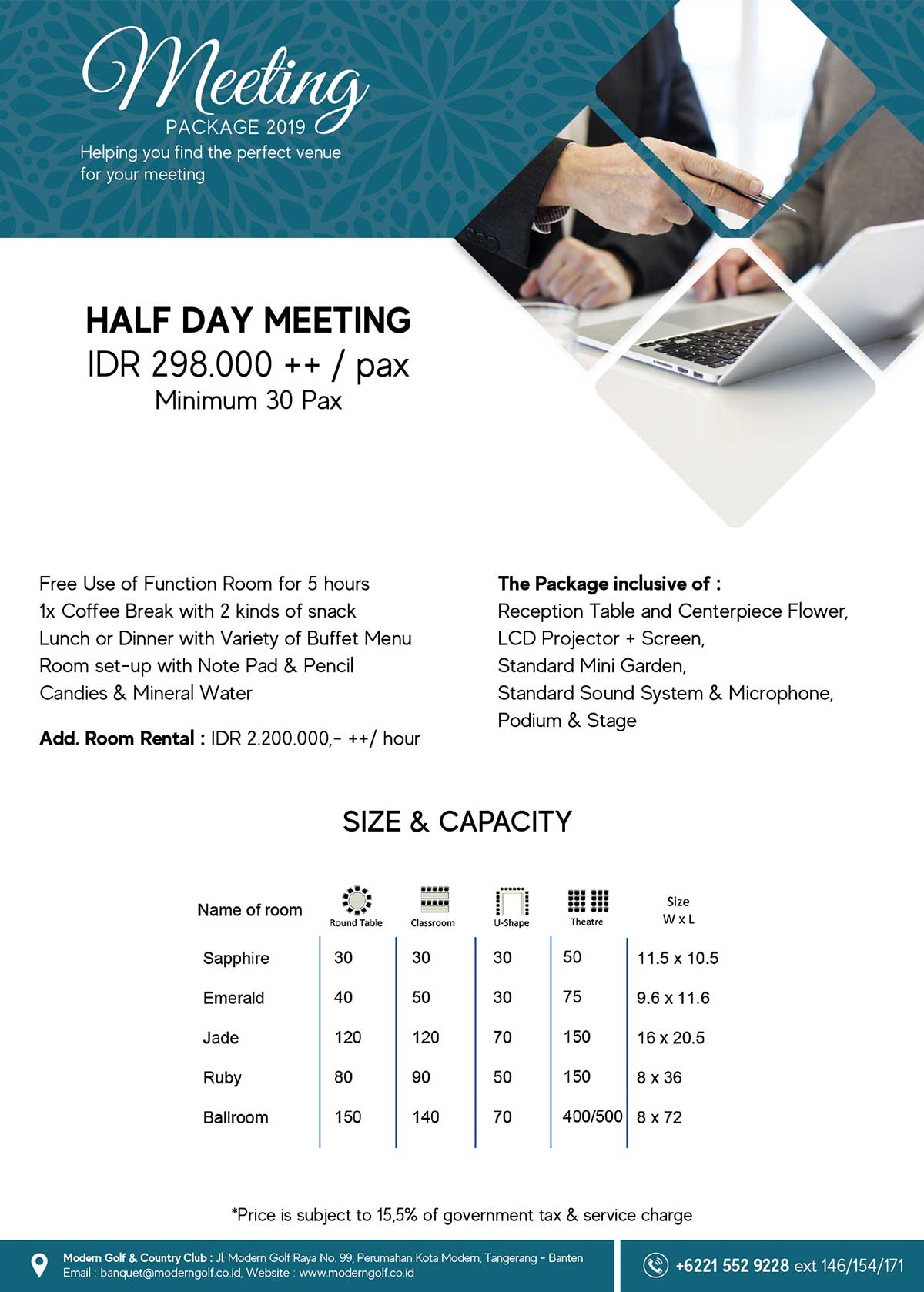 Meeting Half Day