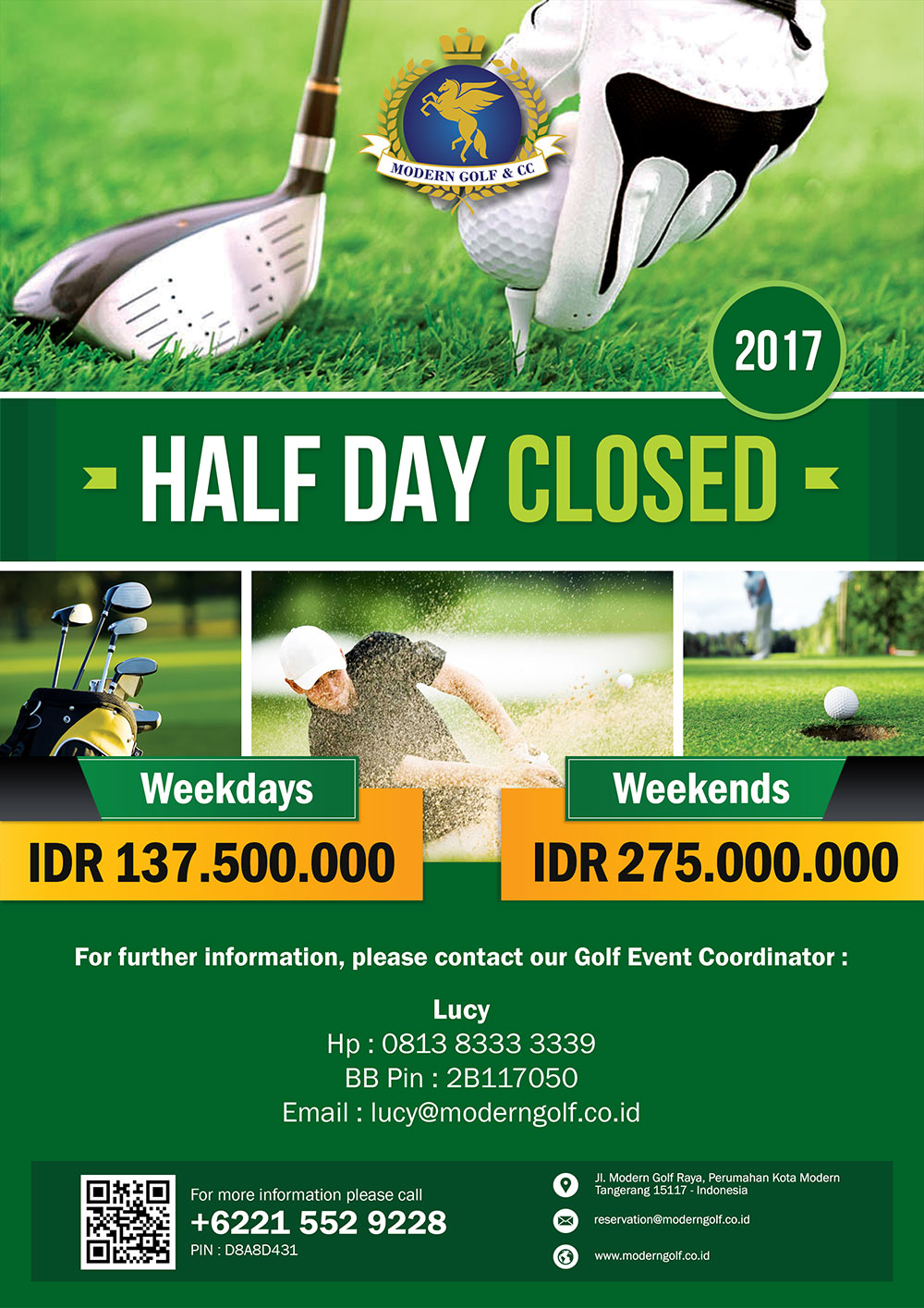 Half Day Closed 2017