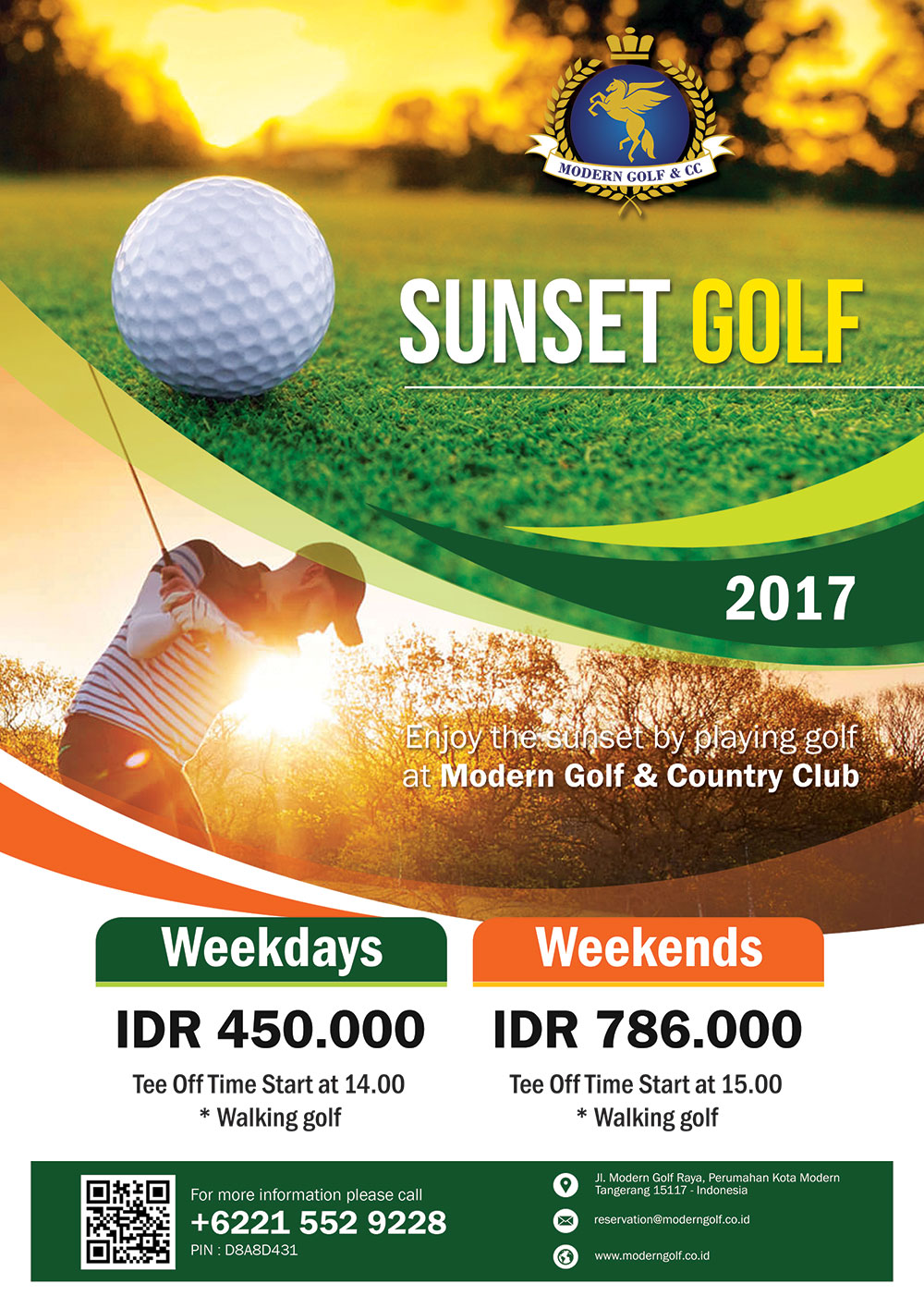 Sunset Golf 2017
