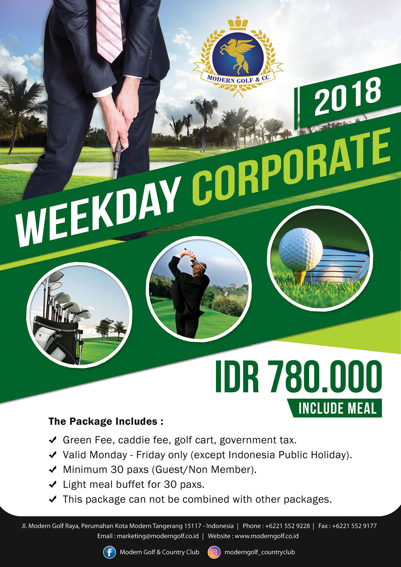 Weekday Corporate 2018