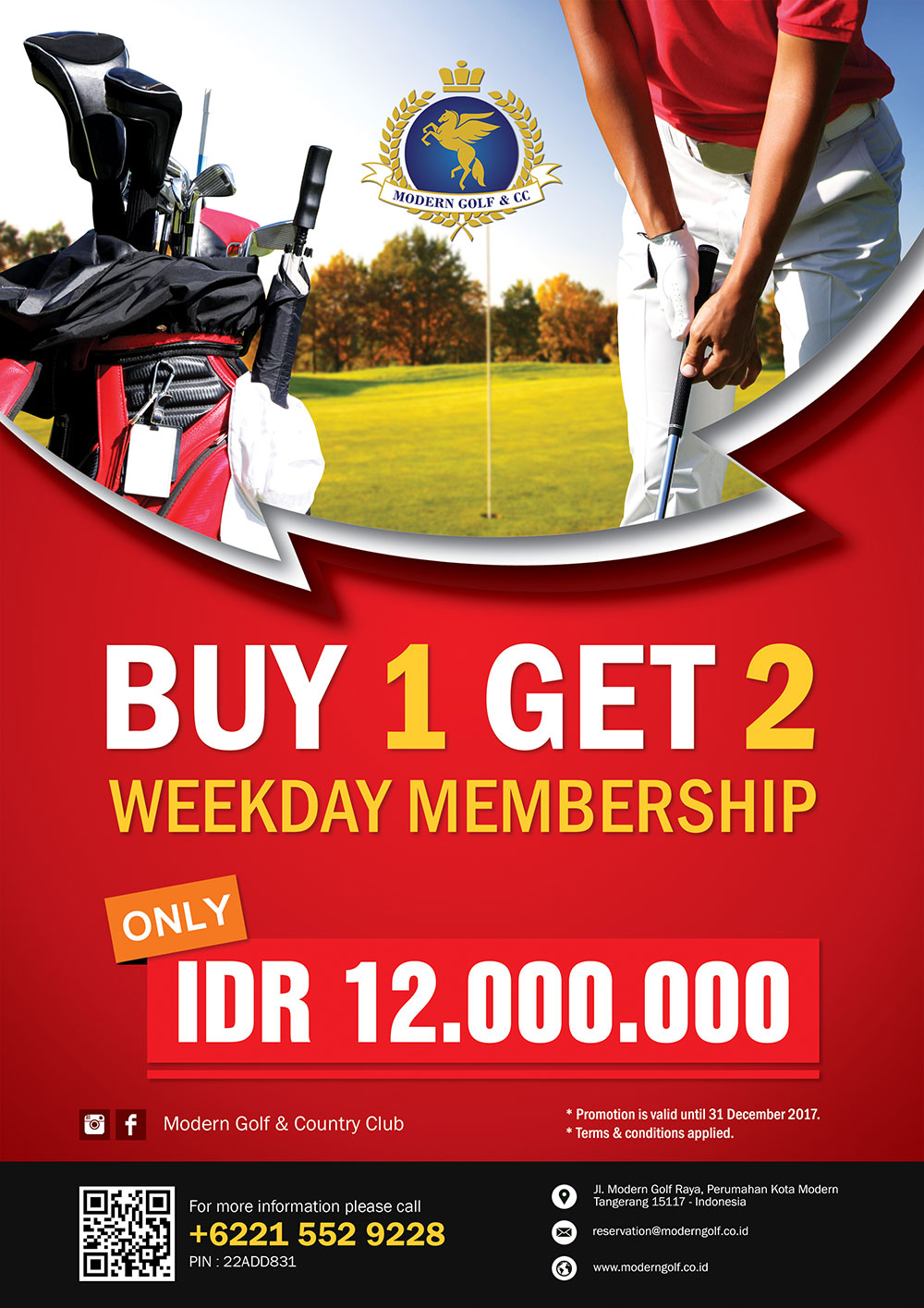 Membership Weekdays Promo