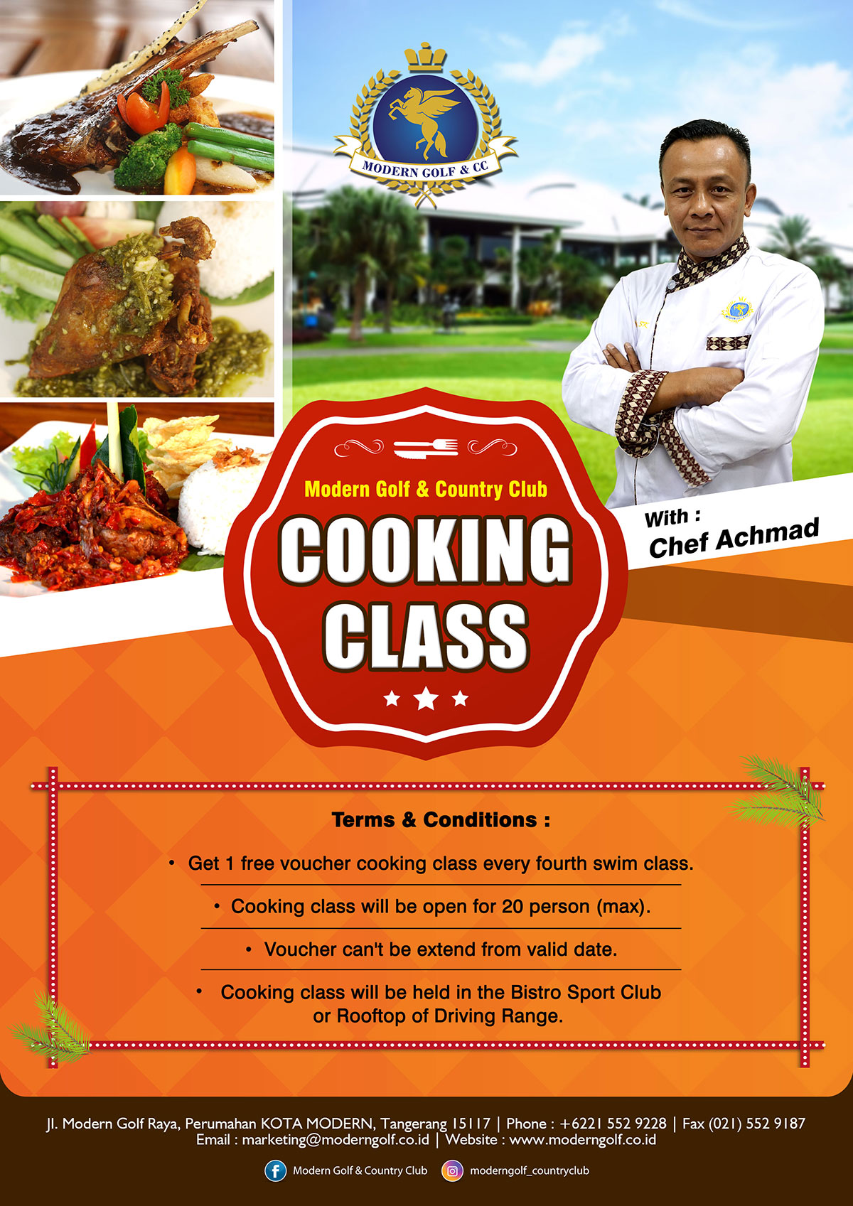 Cooking Clas Events