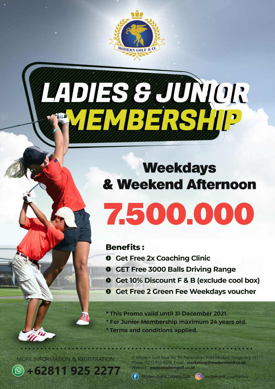Ladies & Junior Membership