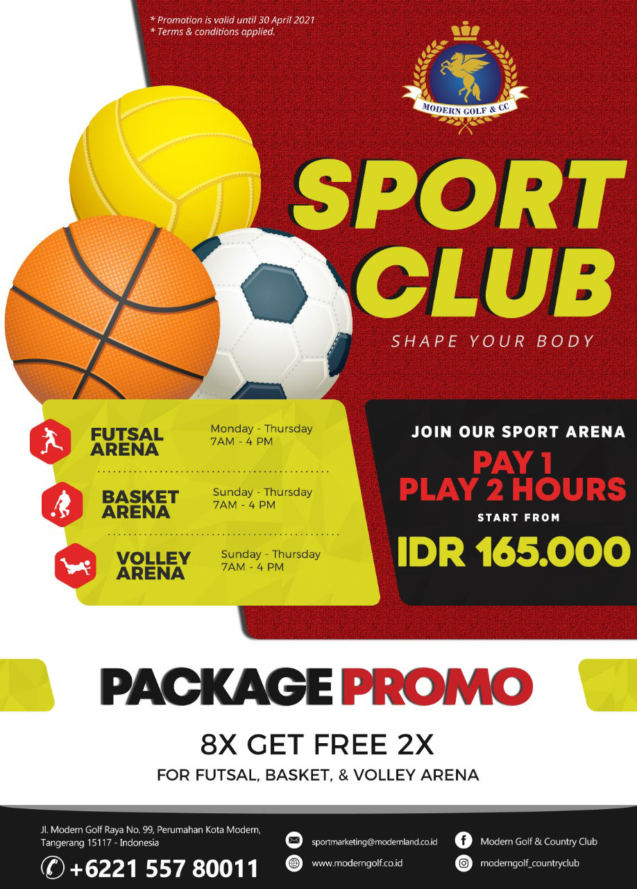 Sport Club Package Promo