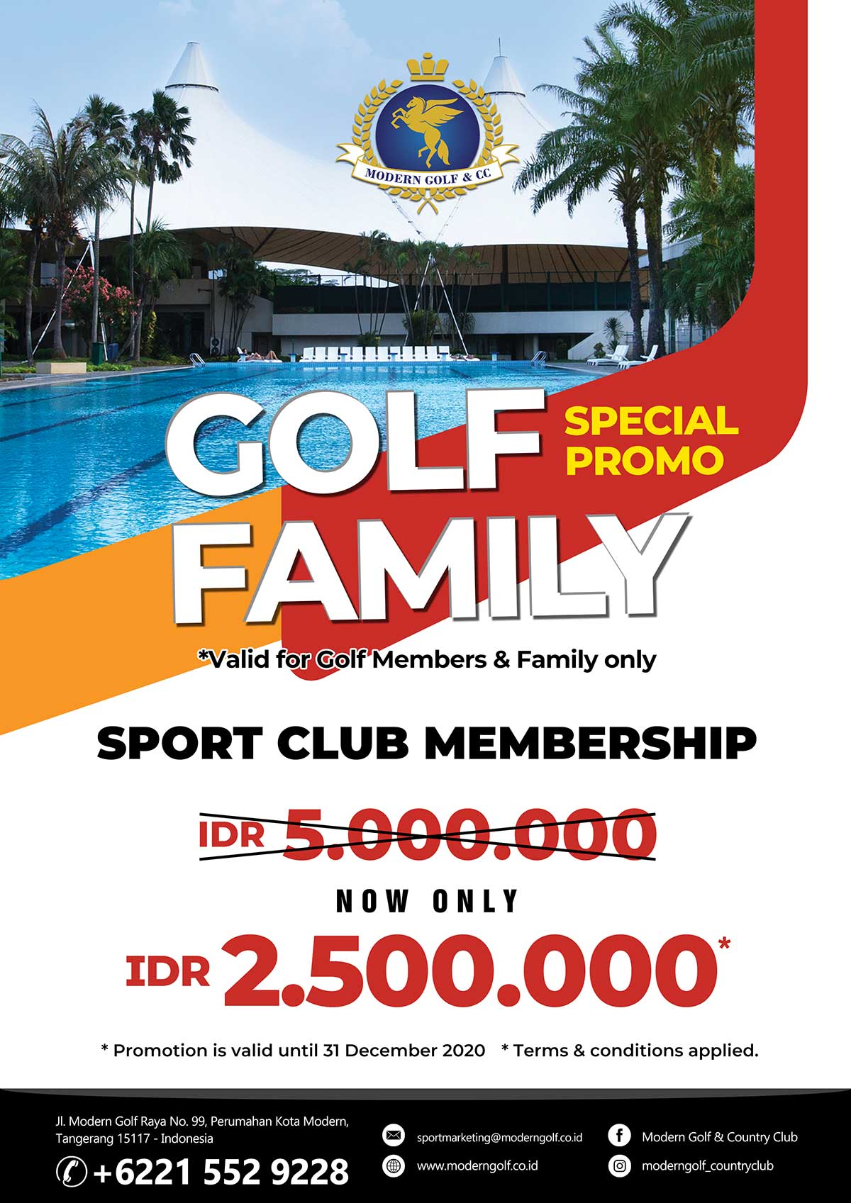 Golf Family Sport Club Membership