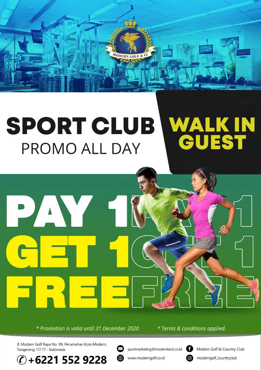 Sport Club Promo All Day